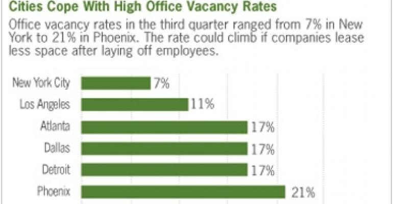 'Phantom' Vacancy Haunts Office Market as Job Losses Mount