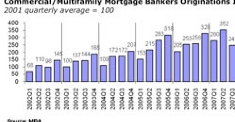 Second-Quarter Loan Originations Flat Year Over Year, Says MBA