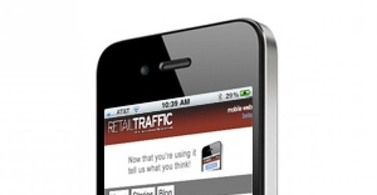 Read Retail Traffic on Your Smart Phone