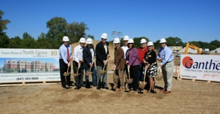 State-of-the-Art Memory Care and Assisted Living Residence Under Construction in Suburban Chicago