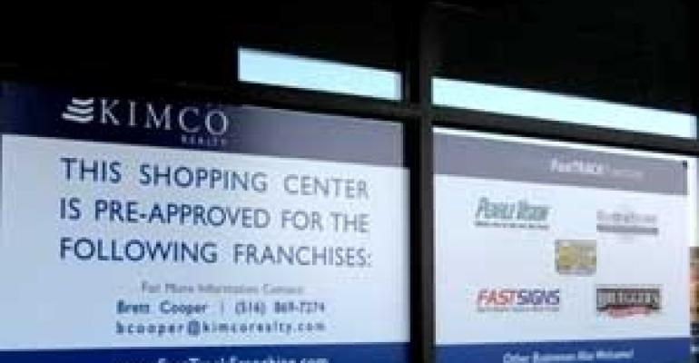 Kimco Puts Franchise Leases on the FastTrack