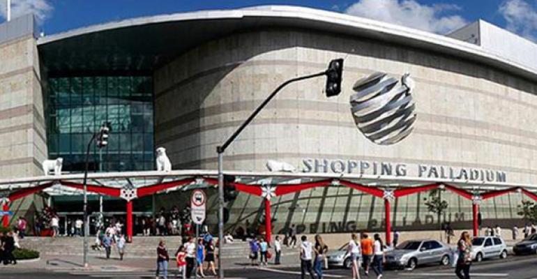 Palladium Shopping Center Curitiba Brazil