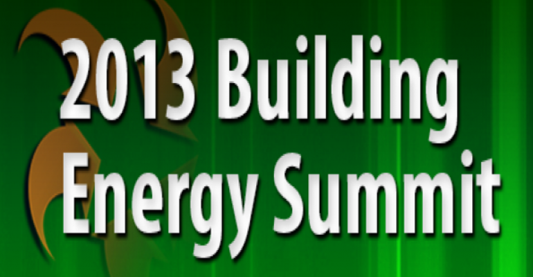 2013 Building Energy Summit Promises Tools for Change