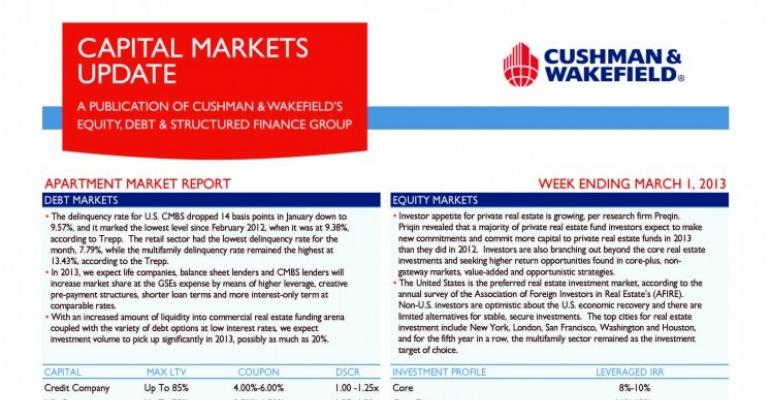 C&W EDSF Apartment Market Report
