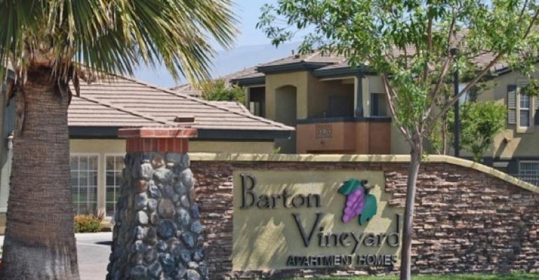 Barton Vineyard Apartments Lands $33M Refinance Loan