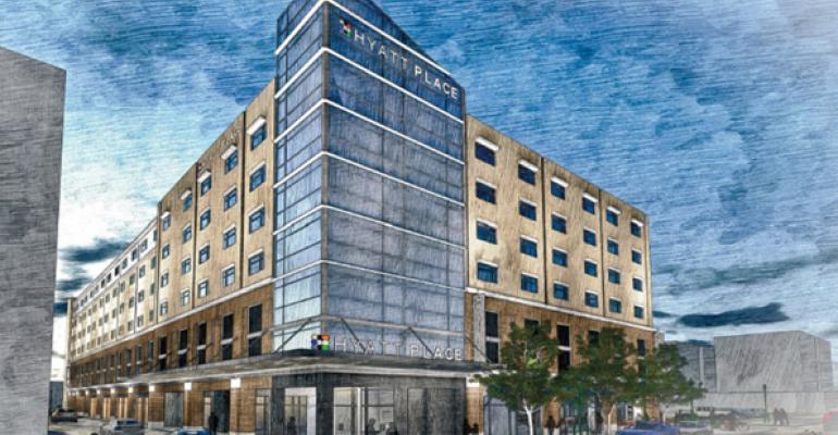 White, REI Start on New Hyatt Place Hotel