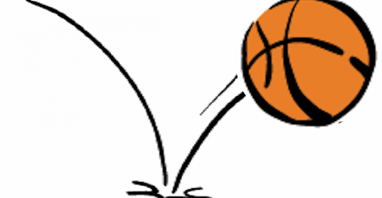 Bouncing Basketball Clipart - Cliparts Galleries