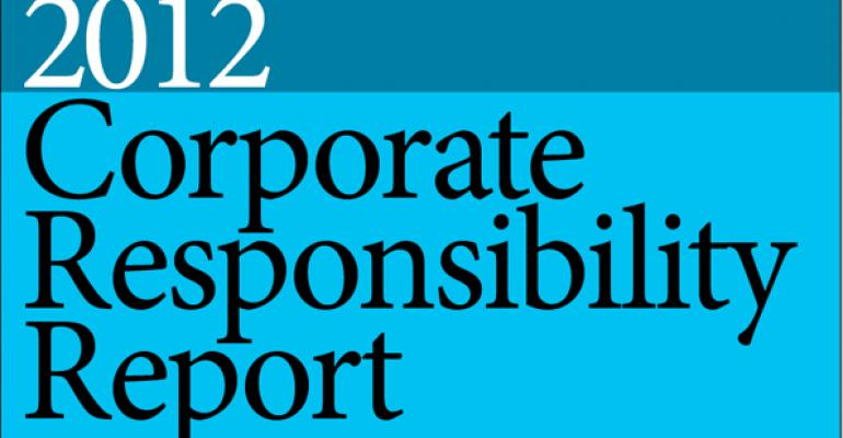 Employee Engagement and Sustainability Thrive at Intel; 2012 Corporate Responsibility Report Released