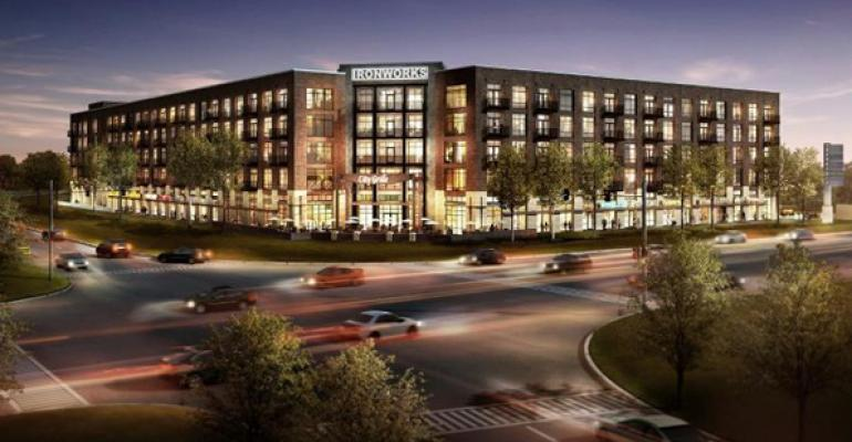Ruth's Chris To Anchor Ironworks Project