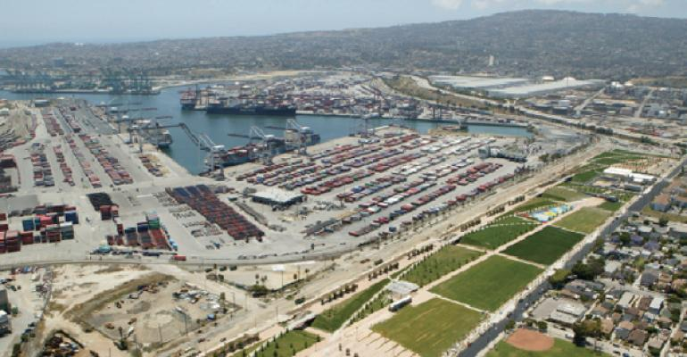 Port of Los Angeles The 10year Main Channel Deepening Project was recently completed
