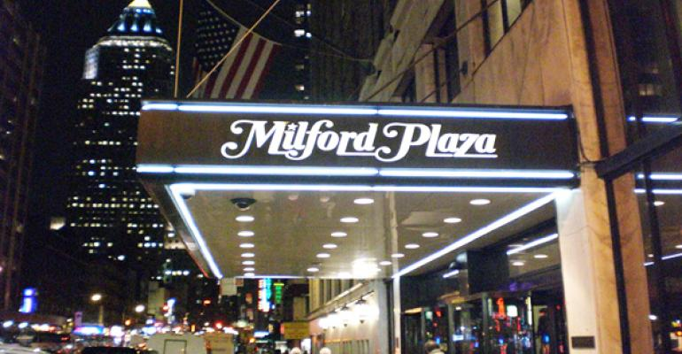NorthStar Realty Finance Originates $255M Loan for Milford Plaza Hotel