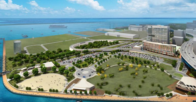 Cleveland Leaders Propose $360M Lakefront Hotel, Infrastructure