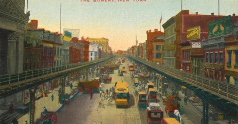The Bowery New York 1937
