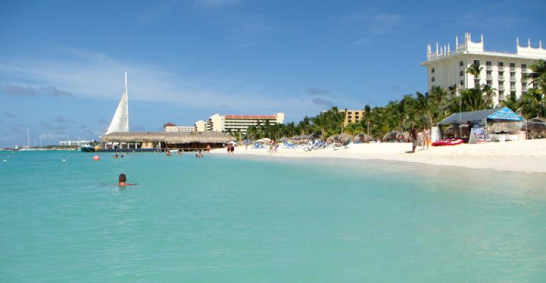Aruba39s Palm Beach