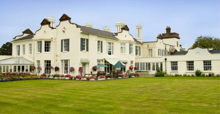 Knowle Park Care Home in Surrey England