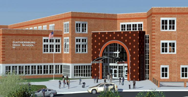 Gaithersburg High School on Fast Track to Green