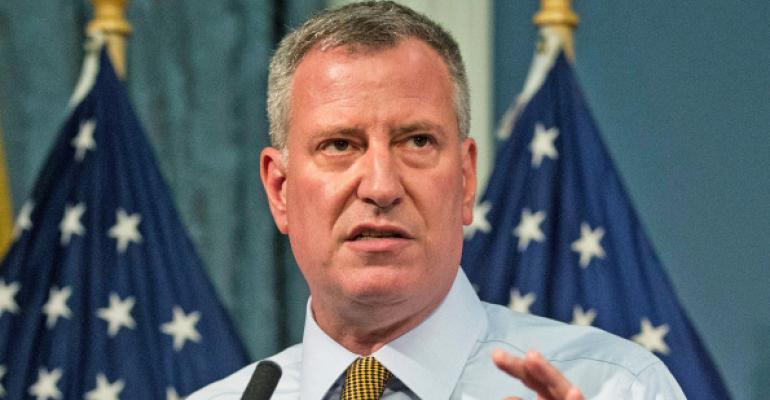 Mayor de Blasio Plans Sustainable Retrofit Pilot Program for NYC