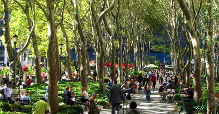 Green from Green: Public Parks Increase CRE Value