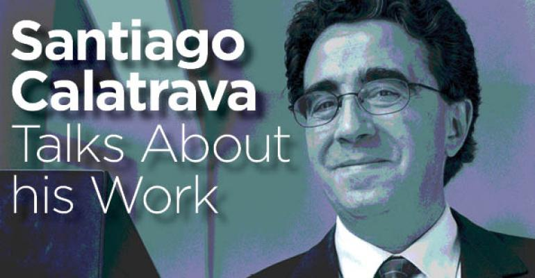 """Build for a Particular Person"":  Santiago Calatrava Talks about What Makes Architecture Successful"
