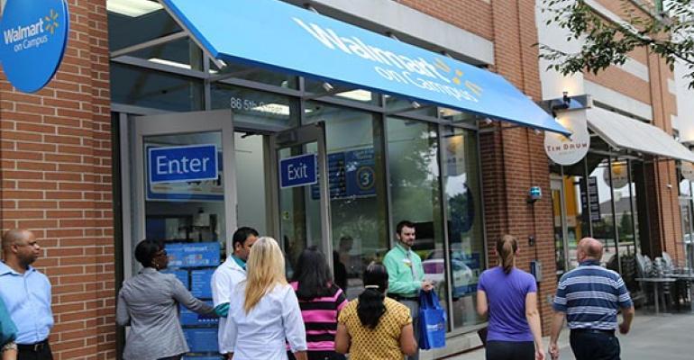 Walmart Expands College Campus Concept