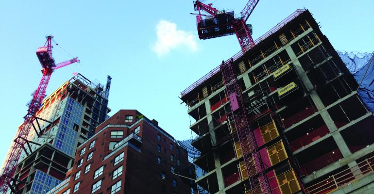Apartment Markets Survive New Construction, So Far