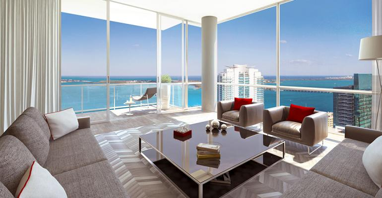 Miami's Condo Frenzy Ends with Inventory Piling Up in New Towers