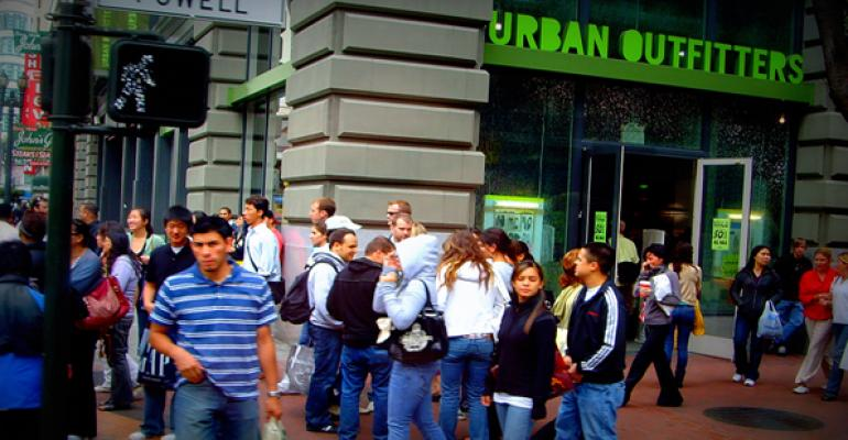 Urban Outfitters Stands Apart from Apparel Sector Peers