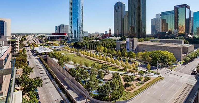 real estate philanthropy klyde warren park
