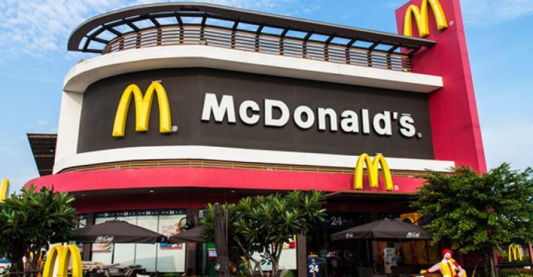 McDonalds storefront