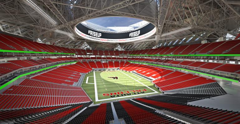 Falcons Close Financing on New $1.5 Billion Football Stadium