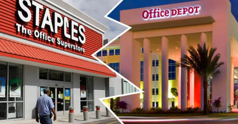 Staples and Office Depot Focus on Reinvention, After Merger is Scuttled