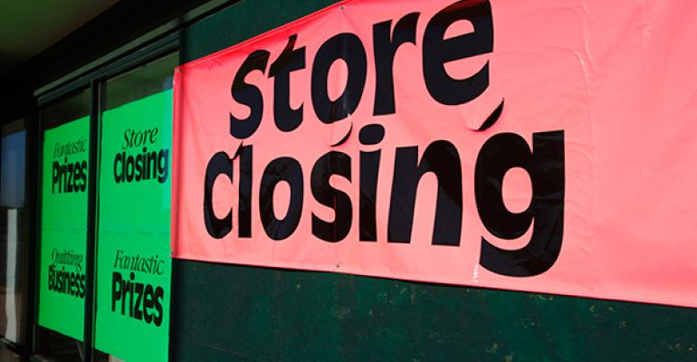 Impact of Large Chain Store Closures on Retail Rents