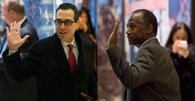 How Will Mnuchin and Carson Impact CRE?