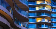 luxury apartment building