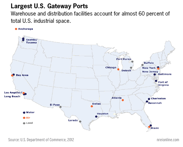 Rates For Sea Shipping Arrangement Demands On The Transportation - China to us seaports map